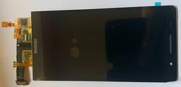 Huawei Ascend P6-U06 дисплей в зборі з тачскріном модуль чорний