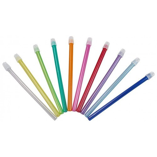 Слюноотсос пластиковый 150х8мм гибкий 100шт
