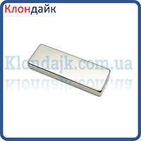 Неодимовый магнит прямоугольник 6х4х2 мм
