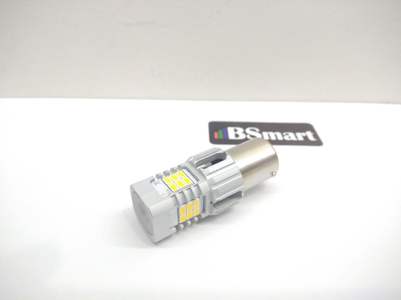 Автолампи світлодіодна LED BSmart LD 1156, P21W, BA15s, 12В, 21Вт CANBUS, Білий