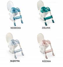 Детское сиденье на унитаз со ступенькой Thermobaby light blue, фото 3