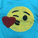 Детский Джемпер для девочек с вышивкой оптом р.1-8 лет, фото 3