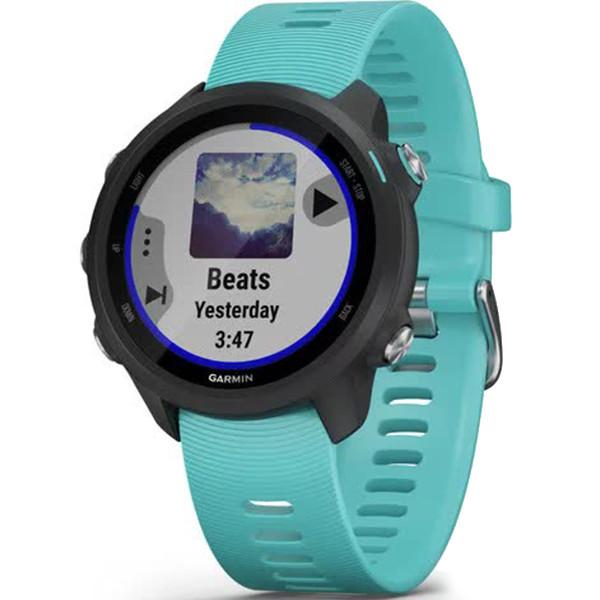 Беговые часы Garmin Forerunner 245 Music Aqua