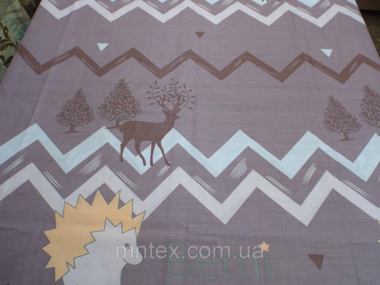 Ткань для пошива постельного белья бязь голд Зигзаг