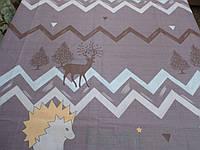 Ткань для пошива постельного белья бязь голд Зигзаг, фото 1