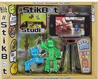 StikBot Studio 2 стик бота + держатель для телефонной съемки