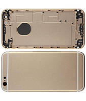 Задня кришка / корпус для iPhone 6, золотистий