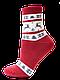 Носки женские махровые Брестские Arctic 15С1408, рис.160, р.25, т.вишневый, фото 2