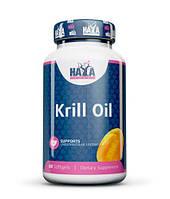 Рыбий жир, Омега HAYA LABS Krill Oil 500mg. 60caps., фото 1