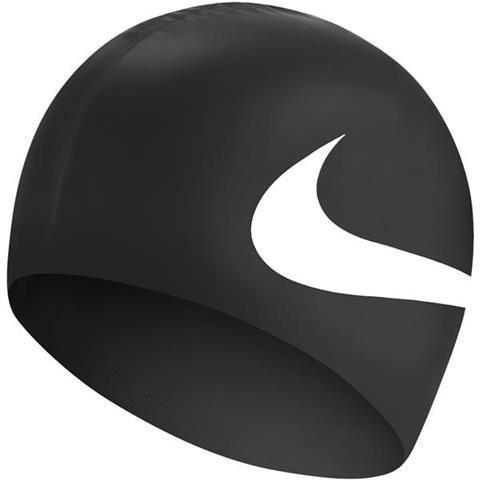 Шапочка для плавания Nike Os Big Swoosh NESS8163-001 Черная