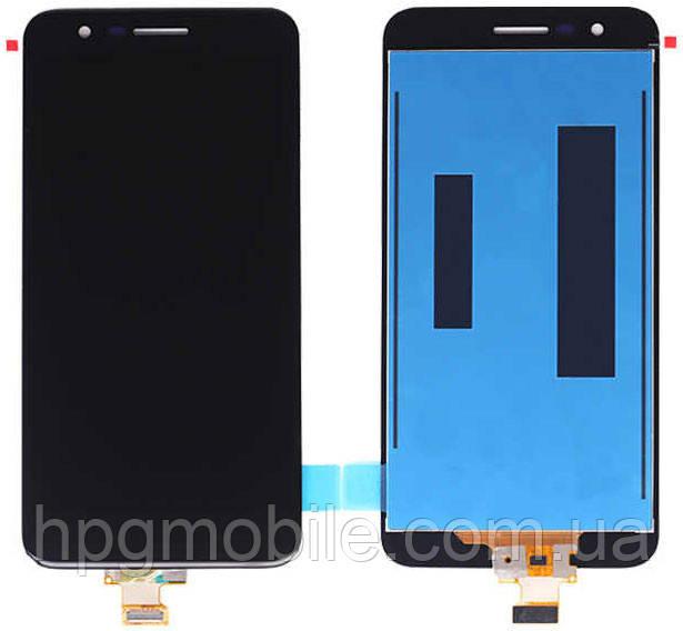 Дисплей для LG K11 (2018) X410, K10 2018, модуль (экран и сенсор), черный, оригинал
