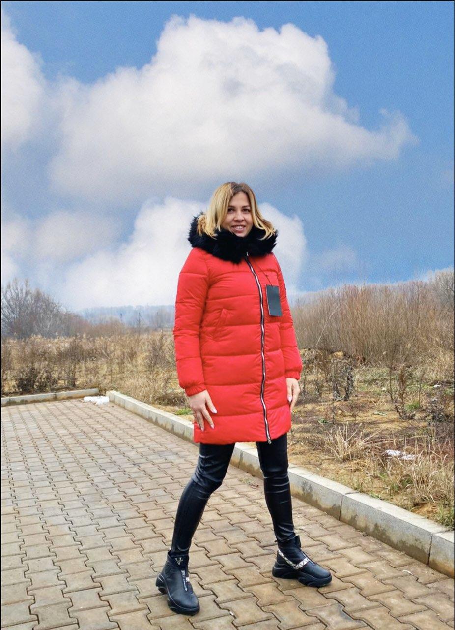 Куртка Miss Jacket красная
