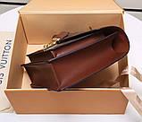 Сумка клатч Луї Вітон канва Monogram, шкіряна репліка, фото 6