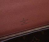 Сумка клатч Луї Вітон канва Monogram, шкіряна репліка, фото 7