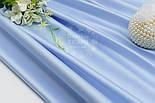 """Лоскут сатина цвет голубая """"классика"""" (№1533с). размер 60*116 см, фото 2"""