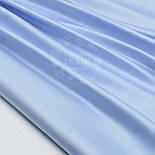 """Лоскут сатина цвет голубая """"классика"""" (№1533с). размер 60*116 см, фото 3"""