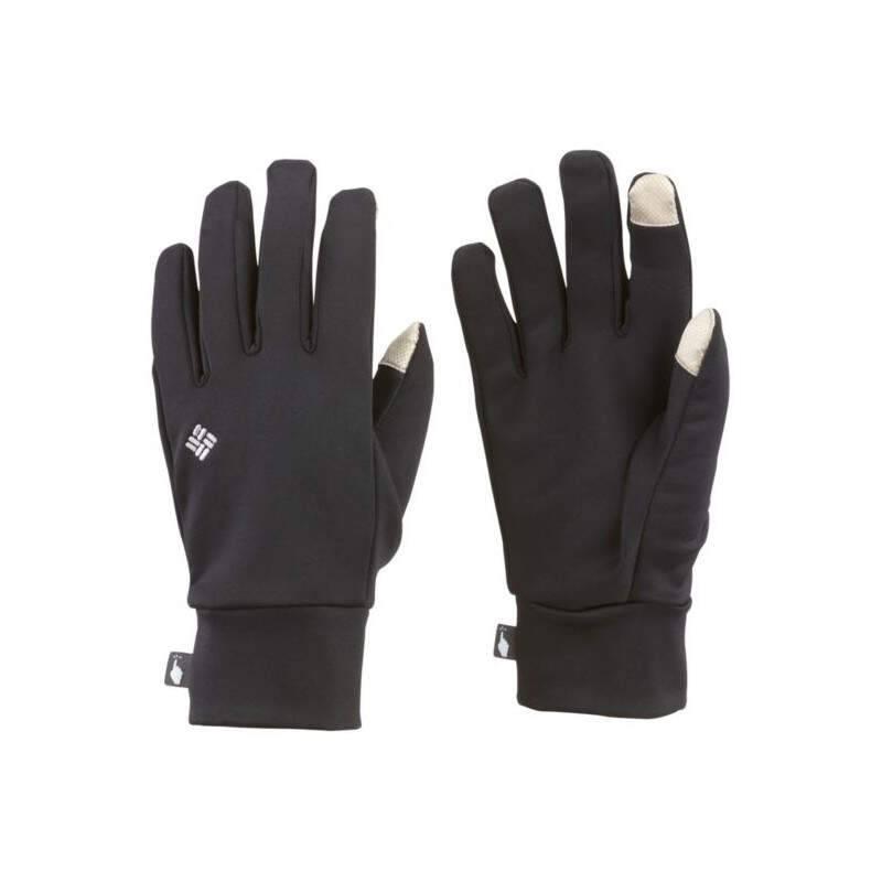 Черные перчатки Columbia Omni-Heat Touch Glove Liner Gloves