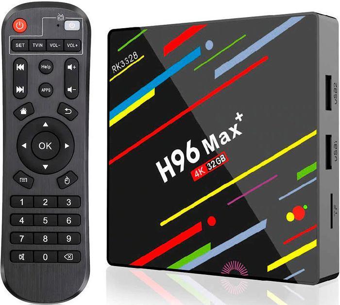 Приставка 4К Smart-TV Box H96 Max Plus 4/32GB