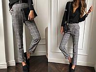 """Женские стильные брюки """"Клетка"""" SK House"""
