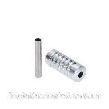 Трубка держатель алюминиевый 22мм (серебряный)