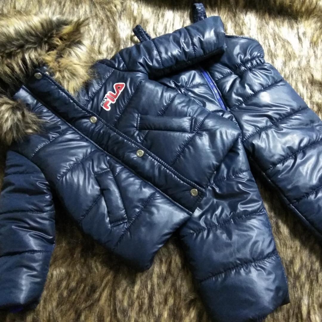 Костюм зимовий куртка та напівкомбінезон і шапка в комплекті 4 роки 104 див.