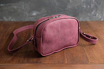 Сумочка Виола Винтажная кожа цвет Бордо