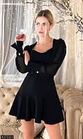 Платье короткое с пышной юбкой черное,платье черное сетка,платья мини,платья мини и миди,молочное платье