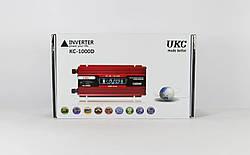 Преобразователь AC/DC KC-1000D 1000W 12V + lcd