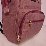 Женский рюкзак текстиль школьный рюкзак для путешествий, фото 4