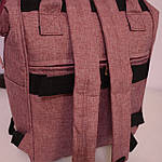 Женский рюкзак текстиль школьный рюкзак для путешествий, фото 5