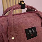 Женский рюкзак текстиль школьный рюкзак для путешествий, фото 7