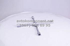 Ключ балонный крест усиленный, с центр. пластиной, 17X19X21X1/2 мм.  (арт. DK2811-4), AAHZX