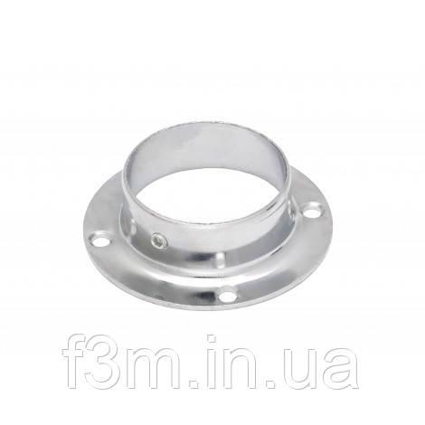 ФЛАНЕЦ на трубу Ø 50 мм:  стальной, ХРОМ,  F3M