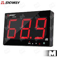 Цифровой измеритель уровня звука (шумомер) SNDWAY SW-525A