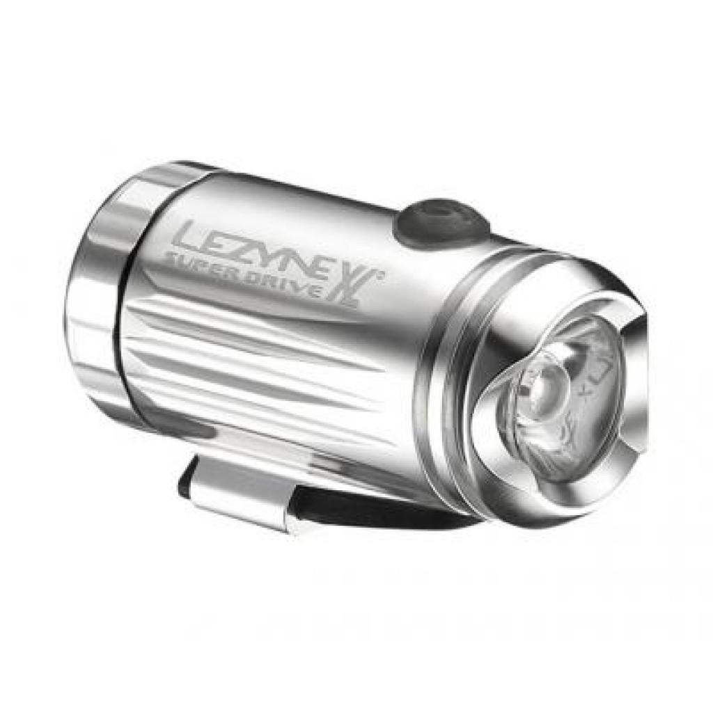 Фонарь велосипедный Lezyne LED MINI DRIVE XL FRONT W/ ACC серебристый (4712805 978601)