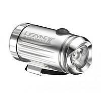 Фонарь велосипедный Lezyne LED MINI DRIVE XL FRONT W/ ACC серебристый (4712805 978601), фото 1