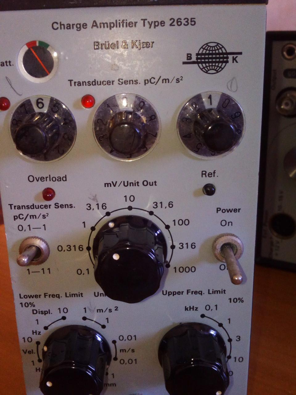Усилитель – формирователь сигнала  2635  Bruel&Kjaer