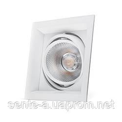 Карданный светильник Feron AL201 COB 12W белый