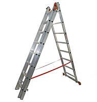 Лестница универсальная Budfix 01410 3х10  (6,12м)