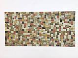 Панели ПВХ Регул Мозаика Травентин корица, фото 2