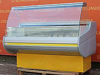 Низькотемпературна холодильна вітрина «Росс Siena» 1.6 м. (Україна), морозильна, Б/в