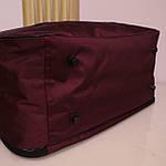 Дорожная сумка спортивная женская Nike 40 л бордовая, фото 6