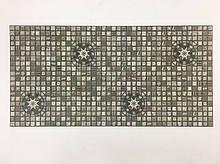 Панели ПВХ Регул Мозаика Медальйон олива