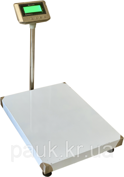 Электронные весы товарные платформенные, 300 кг ВПД-608 ДС, РК дисплей