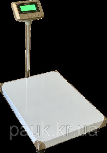 Електронні ваги товарні платформні, 600 кг ВПД-608 ДС, РК дисплей