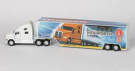 Машинка KINSMART Kenworth T170 (белая)