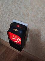 Портативный обогреватель Камин с пультом Flame Heater, 500 Ватт