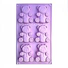 Силиконовая форма для выпечки в духовке (Мишка Барни), фото 3