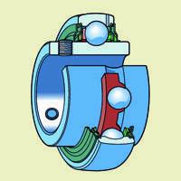 Серия UCххх - шариковые однорядные сферические подшипники с закрепительной удлиненной втулкой