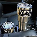 Термокружка YETI Rambler Tumbler 30 OZ (Сталь), фото 3